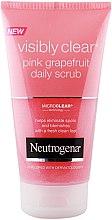 Profumi e cosmetici Scrub viso - Neutrogena Visibly Clear Pink Grapefruit Daily Scrub