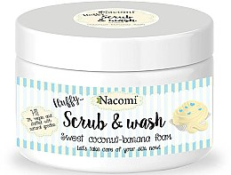 "Profumi e cosmetici Schiuma-peeling ""Coco-banana"" - Nacomi Scrub and Wash Sweet Coconut-Banana Foam"