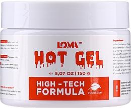 Profumi e cosmetici Crema-gel corpo riscaldante - Loma Sports Hot Gel Cream