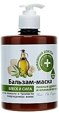 Profumi e cosmetici Maschera balsamo con lievito di birra e olio d'oliva - Domashnyi Doctor