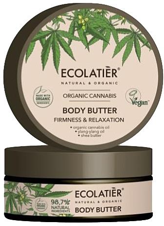 """Burro corpo """"Elasticità e rilassamento"""" - Ecolatier Organic Cannabis Body Butter — foto N1"""