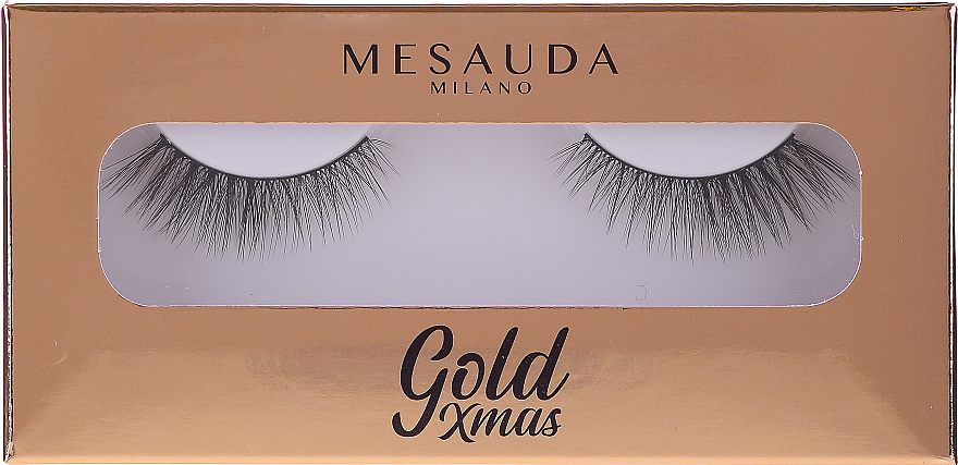 Ciglia finte - Mesauda Milano Gold Xmas Instant Glam False Eyelashes 204 — foto N1