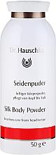 Profumi e cosmetici Talco corpo con seta - Dr. Hauschka Silk Body Powder