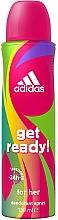 Profumi e cosmetici Adidas Get Ready! For Her - Deodorante spray