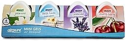 Profumi e cosmetici Set - Airpure 4 Pack Mini Gels (4xgel/60g)