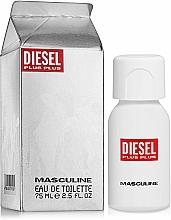Profumi e cosmetici Diesel Plus Plus Masculine - Eau de toilette
