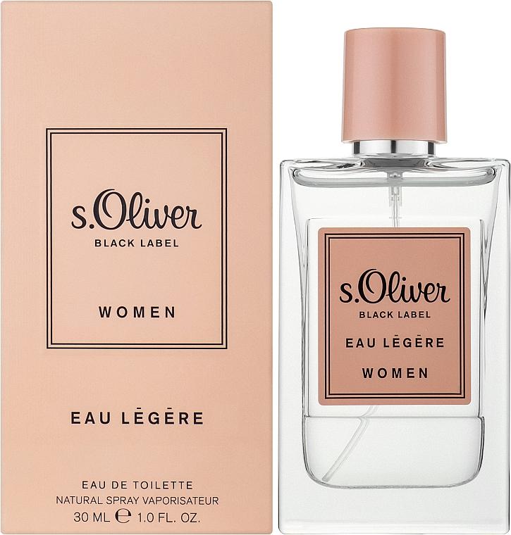S. Oliver Black Label Eau Legere Women - Eau de toilette — foto N2