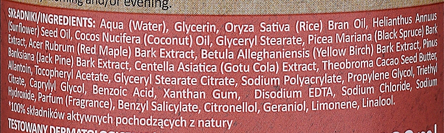 """Balsamo corpo """"Acero rosso"""" - Farmona My'Bio Firming Bio-Balm — foto N2"""