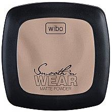 Profumi e cosmetici Cipria compatta opacizzante - Wibo Smooth'n Wear Matte Powder