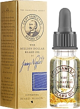 Profumi e cosmetici Olio da barba - Captain Fawcett The Million Dollar Beard Oil by Jimmy Niggles