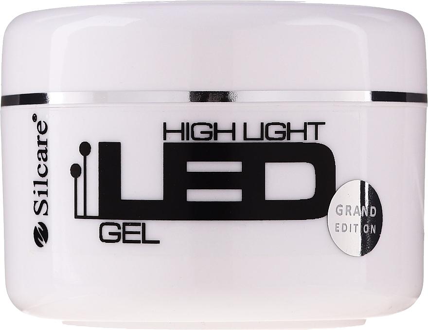 Gel per l'estensione delle unghie - Silcare High Light LED Pink