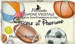 "Profumi e cosmetici Sapone naturale ""Muschio Bianco"" - Florinda Sapone Vegetale Vegetal Soap White Moss"