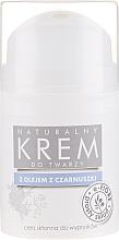Profumi e cosmetici Crema viso al cumino nero - E-Fiore Black Cumin Face Cream