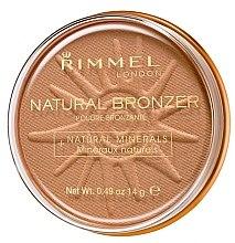 Profumi e cosmetici Bronzer - Rimmel Natural Bronzer Powder