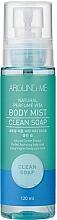 Profumi e cosmetici Spray corpo - Welcos Around Me Natural Perfume Vita Body Mist Clean Soap