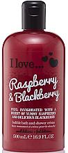 """Profumi e cosmetici Bagnodoccia """"Lampone e Mora"""" - I Love... Raspberry & Blackberry Bubble Bath And Shower Creme"""