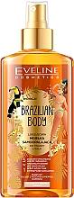 Profumi e cosmetici Olio viso e corpo idratante con effetto abbronzante - Eveline Cosmetics Brazilian Mist Face & Body