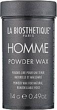 Profumi e cosmetici Cera in polvere per capelli - La Biosthetique Homme Powder Wax