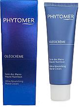 Profumi e cosmetici Crema mani rigenerante al olio di Mekabu - Phytomer Oleocreme Ultra-Nourishing Hand Cream