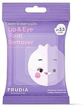 Profumi e cosmetici Salviettine micellari pstruccanti per occhi e labbra - Blueberry Micellar 5.5 Lip & Eye Remover Pad