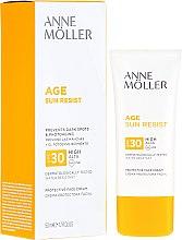 Profumi e cosmetici Crema solare per il viso - Anne Moller Age Sun Resist Protective Face Cream SPF30