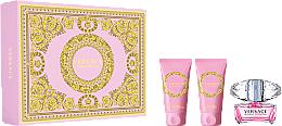 Profumi e cosmetici Versace Bright Crystal - Set (edt/50ml + b/l/50ml + sh/gel/50ml)