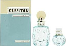 Profumi e cosmetici Miu Miu L'Eau Bleue - Set (edp/100ml + edp/20ml)