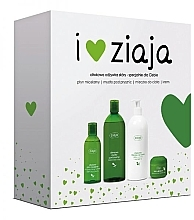 "Profumi e cosmetici Set ""Oliva naturale"" - Ziaja (sh/gel/500ml + lotion/400ml + cr/50ml + micel/water/200ml)"
