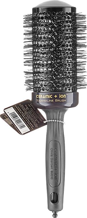 Spazzola tonda termix, 55 mm - Olivia Garden Ceramic+ion Thermal Brush Black d 55 — foto N1
