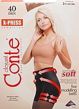 """Profumi e cosmetici Collant """"X-press"""" 40 Den, natural - Conte"""
