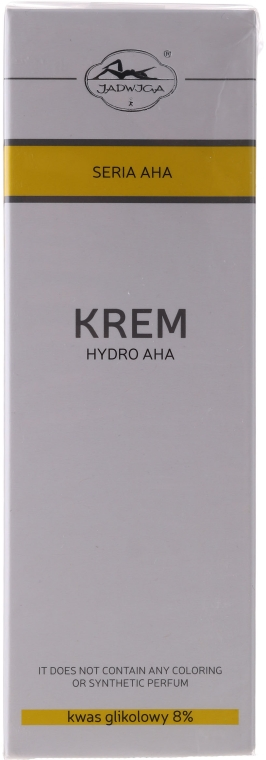 Crema Hydro AHA con acido glicolico 8% - Jadwiga Hydro AHA Cream