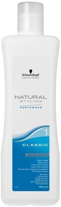 Lozione per permanente, capelli normali e leggermente porosi - Schwarzkopf Professional Natural Styling Classic Lotion 1
