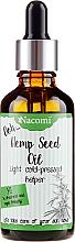 Profumi e cosmetici Olio di semi di cannabis, con pipetta - Nacomi Hemp Seed Oil