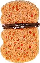 Profumi e cosmetici Spugna da bagno, a base di cotone e lino - Suavipiel Natural Vegetal Sponge