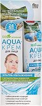 """Profumi e cosmetici Aqua-crema viso con acqua termale della Kamchatka """"Ultra-idratante"""" - Fito cosmetica"""