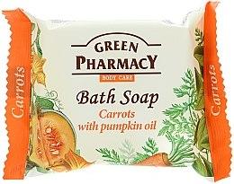 """Profumi e cosmetici Sapone """"Carote con olio di zucca"""" - Green Pharmacy"""