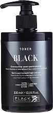 Profumi e cosmetici Toner per capelli, colorazione semi-permanente - Black Professional Line Semi-Permanent Coloring Toner