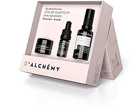 Profumi e cosmetici Set - D'Alchemy Loss of Elasticity Skin Renewer Travel Pack (f/cr/15ml + f/oil/5ml + mic/water/30ml)