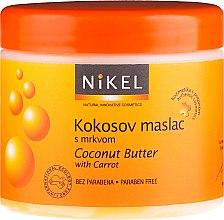 Profumi e cosmetici Burro corpo al cocco e carota - Nikel Coconut Butter