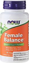 Profumi e cosmetici Complesso di erbe in capsule per donne - Now Foods Female Balance
