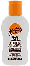 Profumi e cosmetici Lozione solare protettiva - Malibu Lotion SPF30