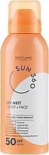 Profumi e cosmetici Crema solare per viso e corpo - Oriflame Sun 360 Dry Mist SPF 50