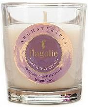 """Profumi e cosmetici Candela profumata """"Lavanda"""" - Flagolie Fragranced Candle Lavender Relax"""
