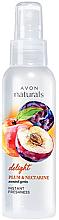"""Profumi e cosmetici Lozione-spray corpo """"Prugna e Nettarina"""" - Avon Naturals Body Spray"""