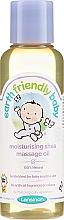 Profumi e cosmetici Olio da massaggio - Earth Friendly Baby Moisturising Shea Massage Oil
