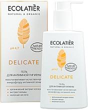 Profumi e cosmetici Gel intimo con estratto di loto biologico - Ecolatier Delicate