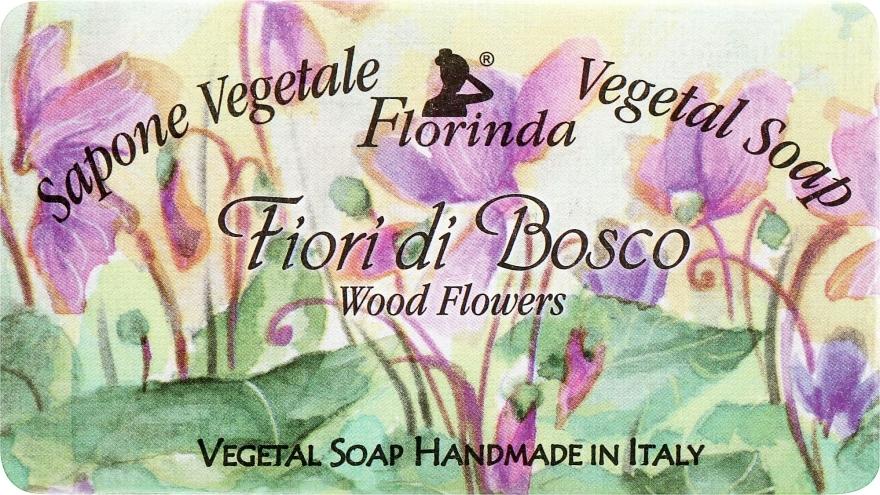 "Sapone naturale ""Fiori di bosco"" - Florinda Sapone Vegetale Vegetal Soap Wood Flowers"
