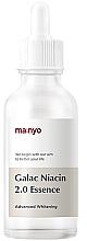 Profumi e cosmetici Essenza fortificante con galattomisi e niacinamide - Manyo Galac Niacin 2.0 Essenc