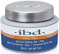 Profumi e cosmetici Gel design per unghie rosa - IBD LED/UV Builder Pink Gel