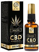 Profumi e cosmetici Olio di canapa naturale Bio CBD 500mg - Dr. T&J Bio Oil